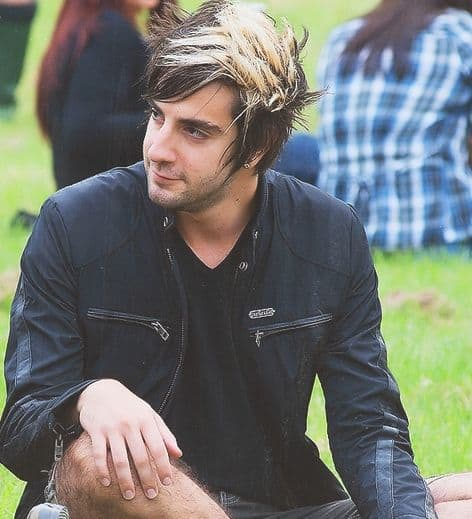 Photo of Jack Barakat with streaked hair.
