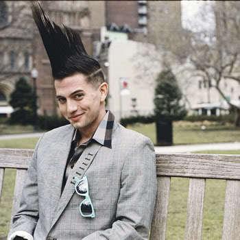 Jackson Rathbone Mohawk hairstyle.