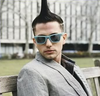 Jackson Rathbone Mohawk hair