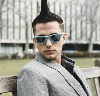 Jackson Rathbone Mohawk hair