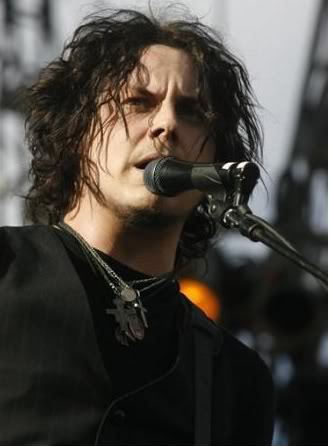 Jack White layered hair