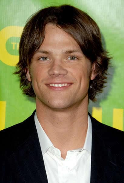 Photo of Jared Padalecki hairstyle.