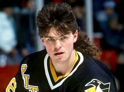 Photo of Jaromir Jagr hairstyle.