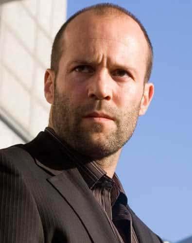Photo of Jason Statham buzz cut.