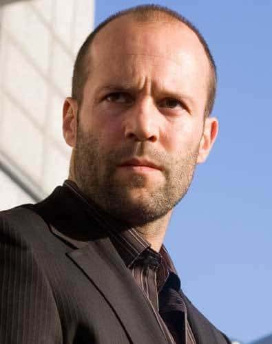 Pic of Jason Statham buzz cut.
