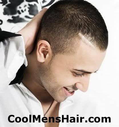 Image of Jay Sean buzz haircut.