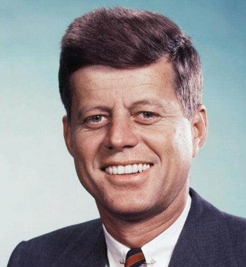 John F. Kennedy's Iconic Hairstyle – Cool Men39;s Hair
