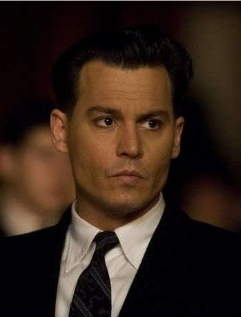 Johnny Depp John Dilinger Hairstyle Cool Men S Hair