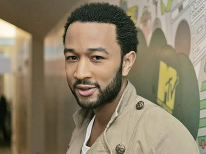 Cool black hairstyle from John Legend.