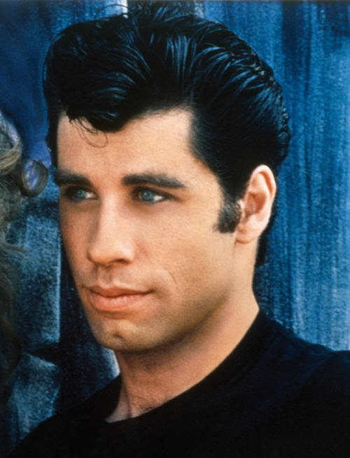 Photo of Danny Zuko grease hairstyle.