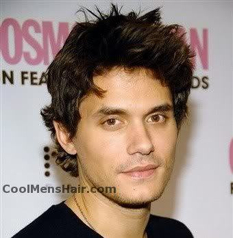 Image of John Mayer hairstyle.