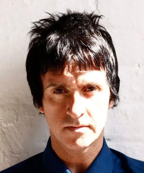Photo of Johnny Marr Hairstyle.