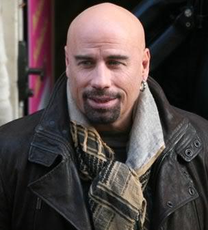 John Travolta bald style