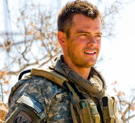 Photo of Josh Duhamel 'Lennox' long crew cut.