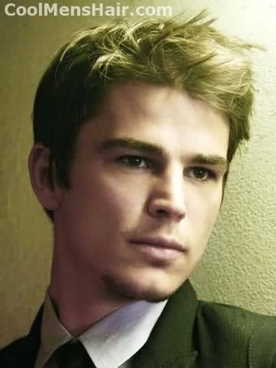 Picture of Josh Hartnett hairstyle.