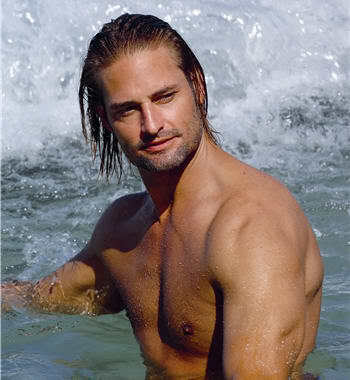 Josh Holloway surfer hair in Davidoff's Cool Water advert