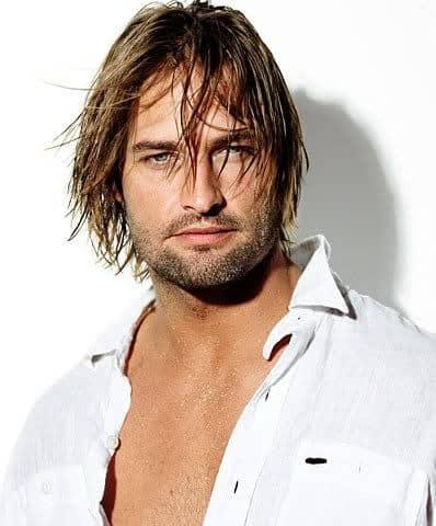 Josh Holloway surfer hairstyle