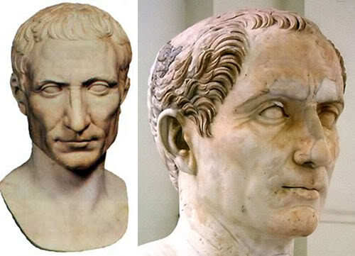 Julius Caesar classic hairstyle for men