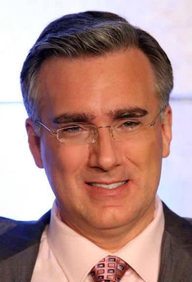 Image of Keith Olbermann side-parted hairstyle.