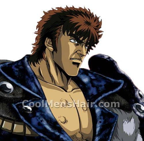 Picture of Kenshiro spiky hairstyle.