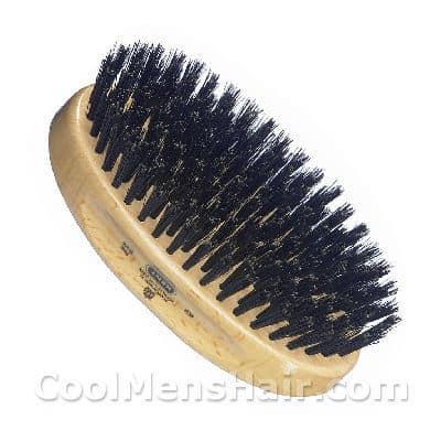 Image of Kent military hair brush for men.