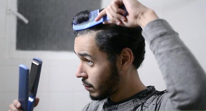 keratin hair treatment for men