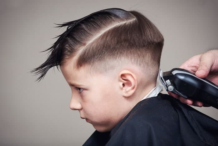 how to do a fade haircut on a little boy