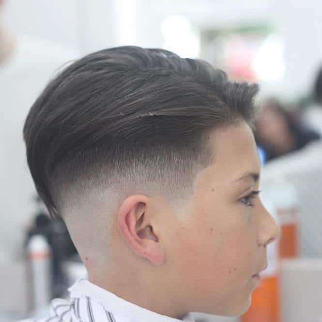 fade hairstyle for kids