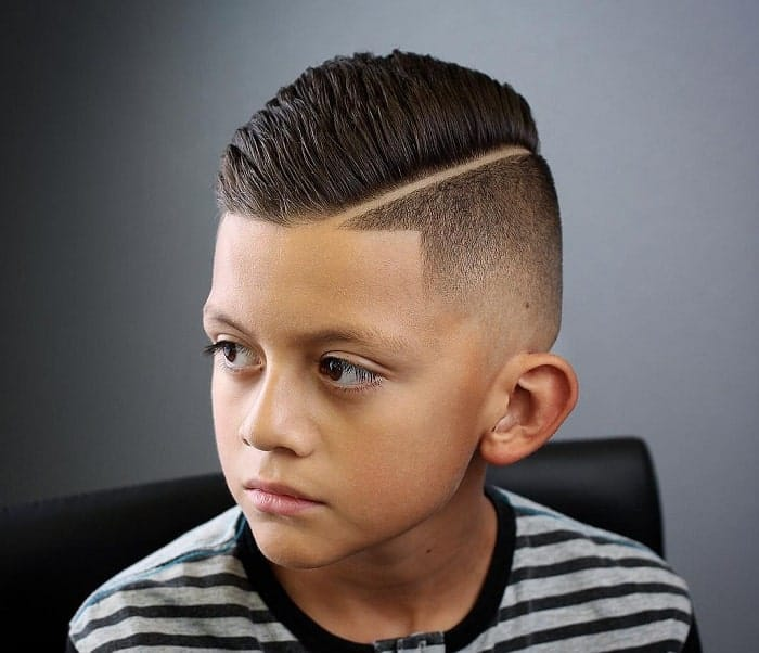 fade haircuts for kids