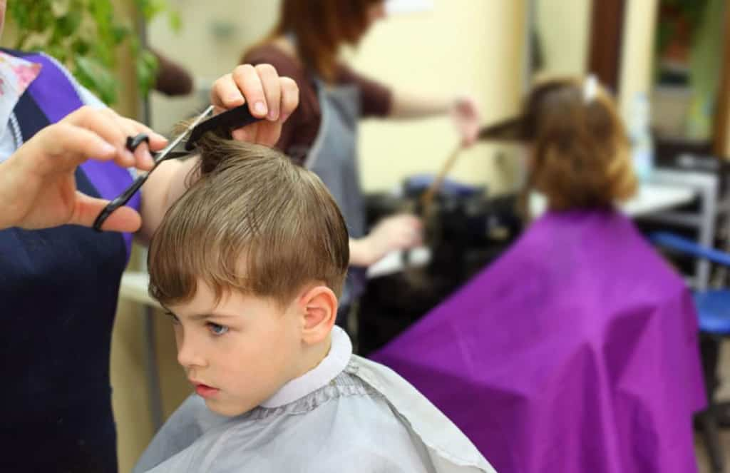 kid's short hairstyle