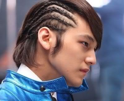 Kim Bum Cornrows Hairstyles