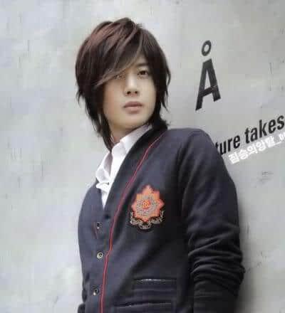 Kim Hyun Joong hairstyles