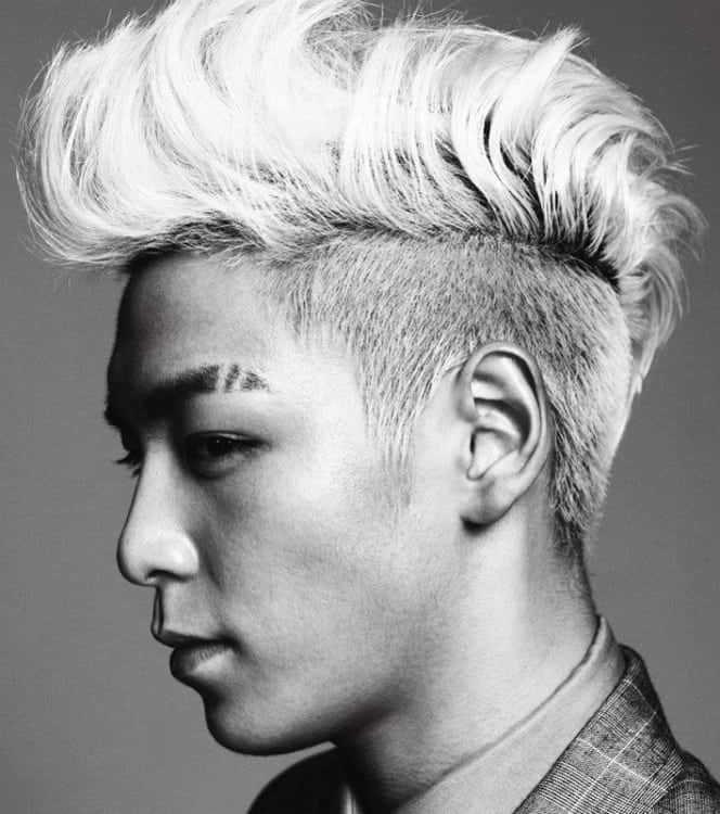 mohawk haircuts for Korean men