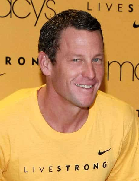 Lance Armstrong hairstyle