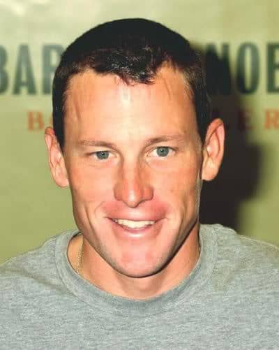 Lance Armstrong short hair style