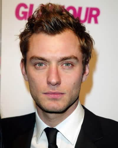 men's hairstyle from Jude Law