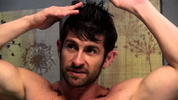 how to layer men's hair at home