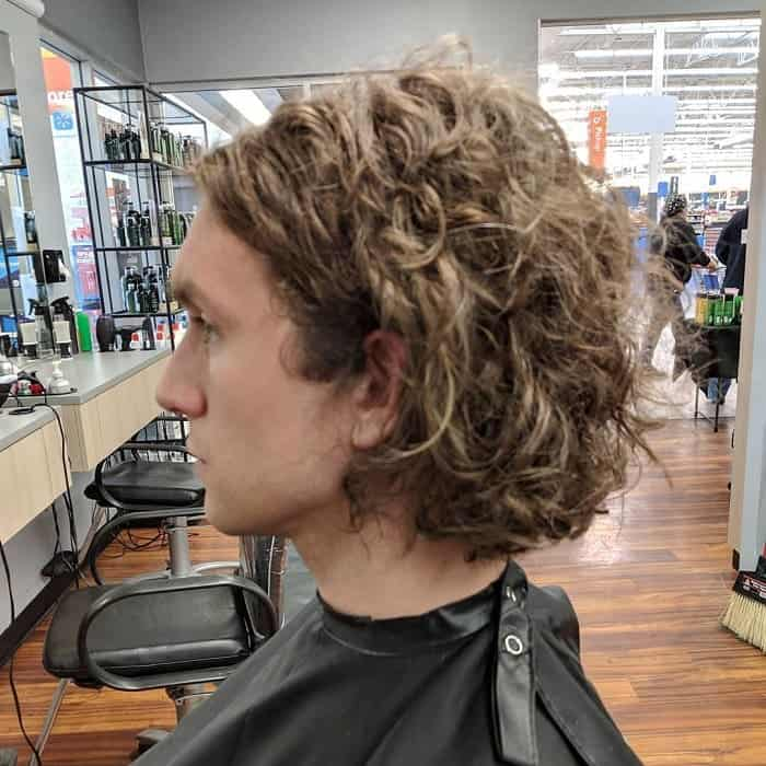 Layered Haircut for Curly Hair