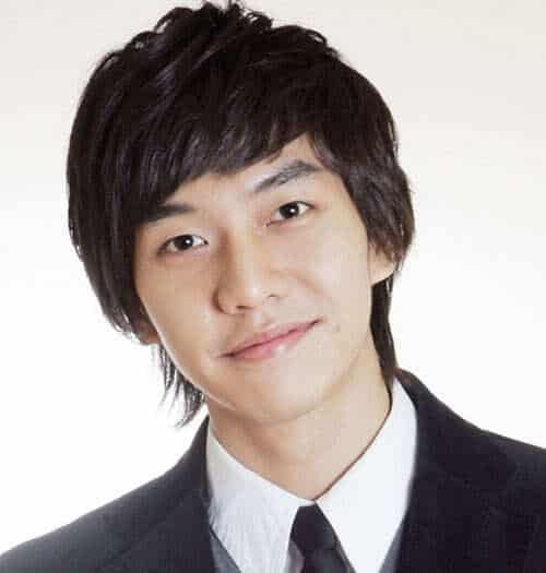 Photo of Lee Seung Gi hairstyle.