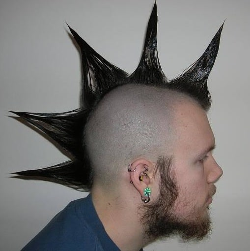 liberty spike mohawk for men