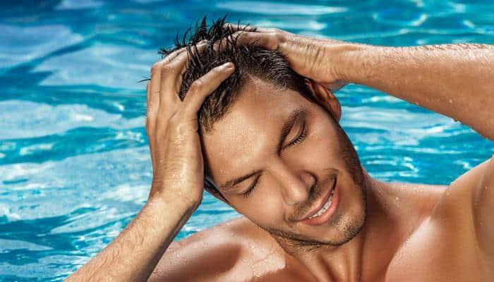 chlorine and sunlight for lighten hair color