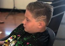 lightning bolt haircut for boys