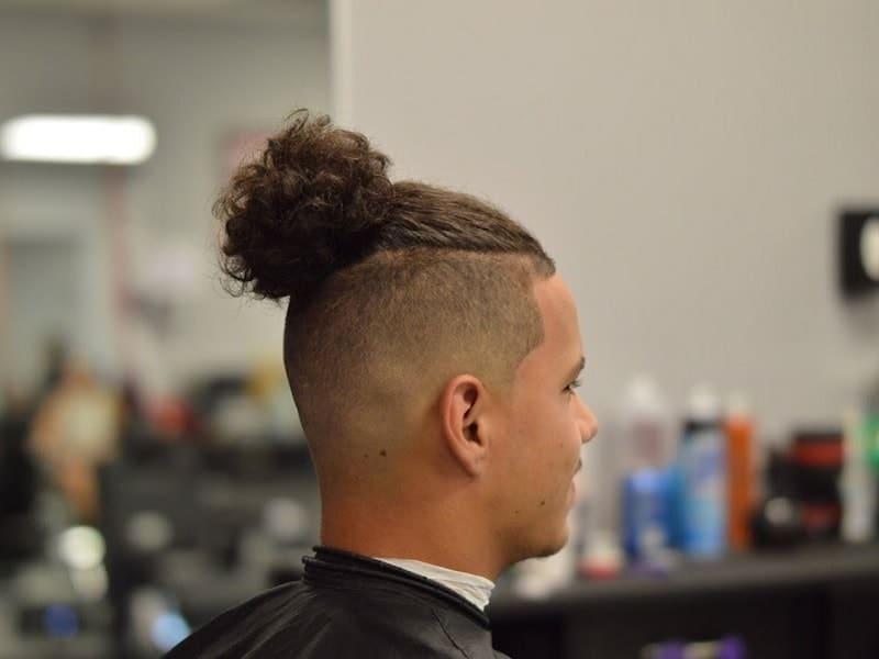 man bun for lightskin guys