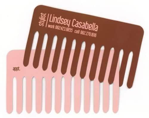 Lindsey Casabella comb card.