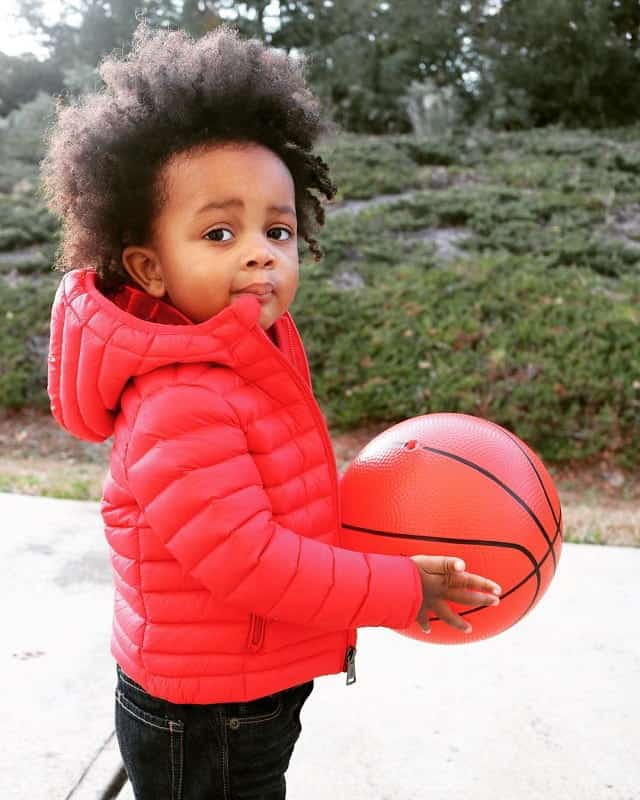 long curly hairstyle for little black boy