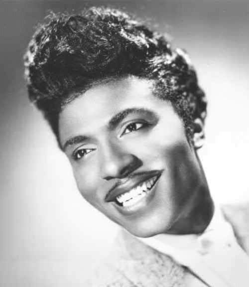 Photo of Little Richard hairstyle.