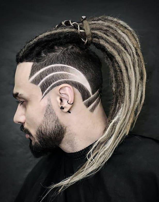 Long Blonde Dreads for Men