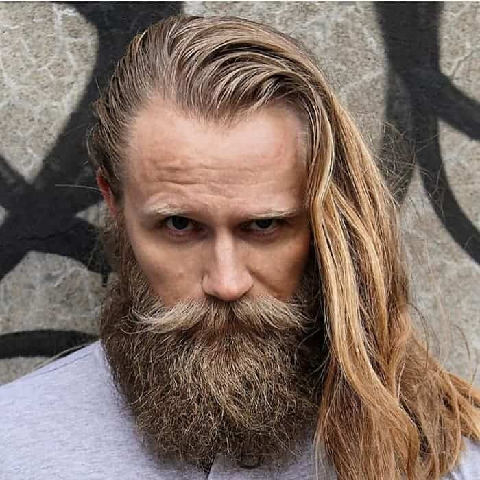 top 10 long blonde hairstyles for guys 2021  cool men's
