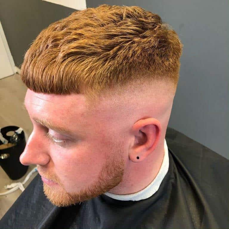 long buzz cut