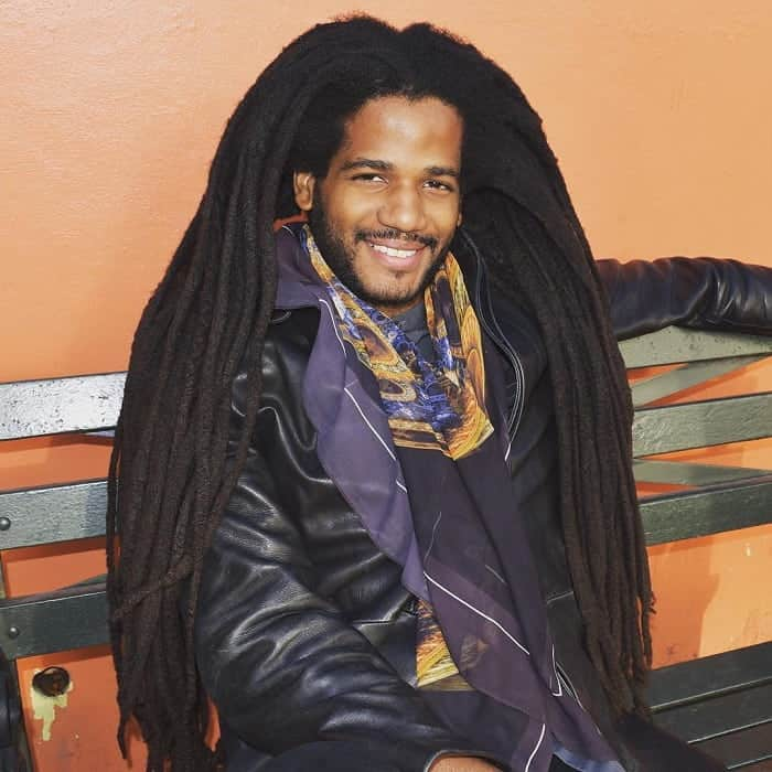 Long Dreads for Black Men